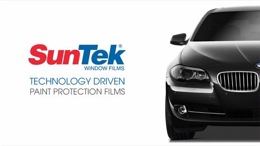 Suntek self healing bulk clear bra film for Car paint protection film cost