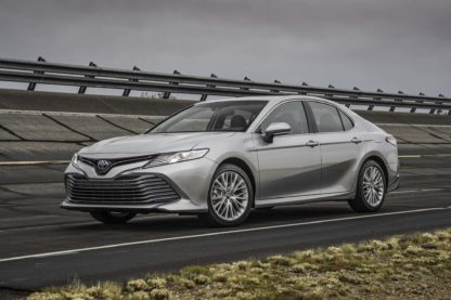 2018 Camry Le >> 2018 Toyota Camry Le Xle