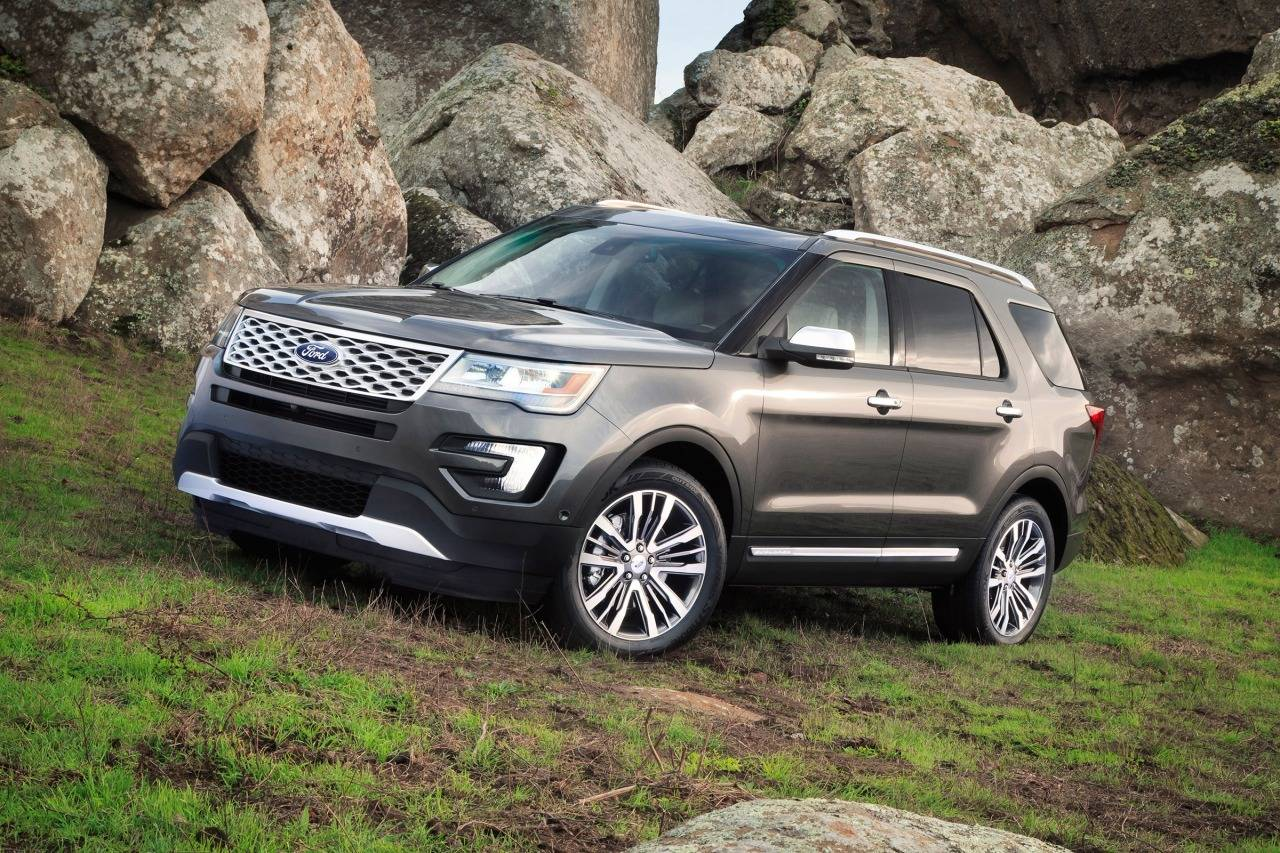 2018 ford explorer xlt platinum limited